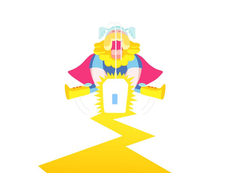 Thunder thor god of thunder illustration hammer