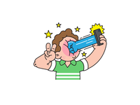 Selfie Punch for motto app
