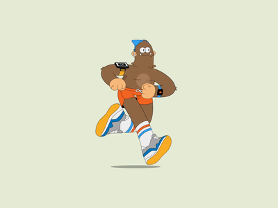 Healthy Sasquatch tutorial character animation after effects