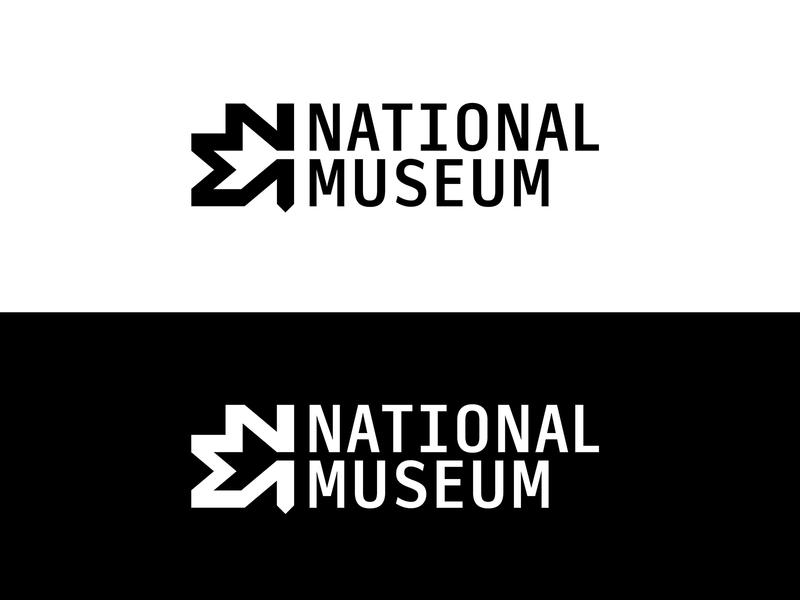 National Museum Australia Rebrand typography illustrator abstract experimental logo branding design