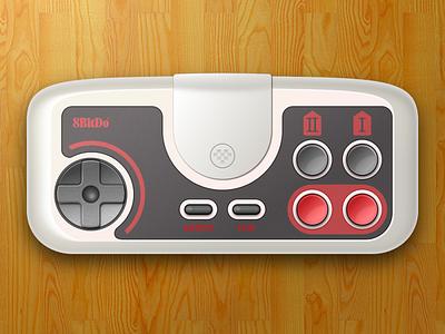 PC Engine Wireless Controller controller sketchapp vector video games