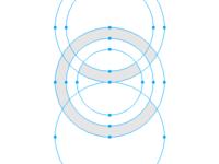 Ce logo wireframe