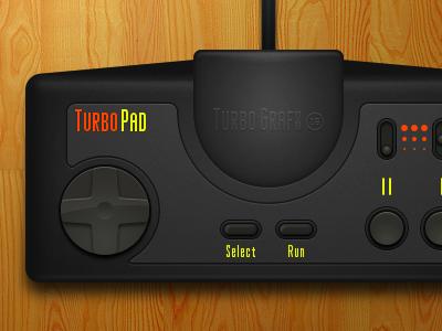 TurboPad v3 turbo openemu sketchapp controller turbografx-16 turbografx vector pc-engine video games sketch app