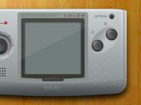 Neo Geo Pocket Color - Sketch