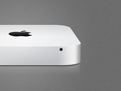 Mac mini 2011 vector apple mac grey fireworks