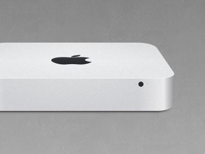 Mac mini Sketch sketchapp computer hardware apple mac vector