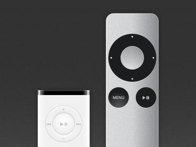 Apple Remotes - Sketch