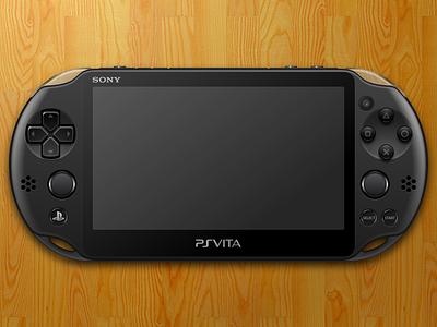 PS Vita controller openemu sketchapp video game gaming vector