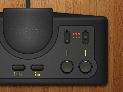 TurboPad turbo fireworks controller turbografx-16 turbografx pc-engine vector video games