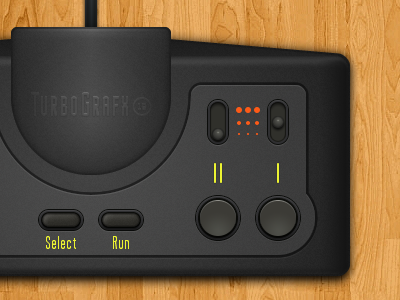 TurboPad v2 turbo video games pc-engine vector turbografx turbografx-16 controller fireworks