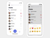 iPhone X | Voice Messenger App