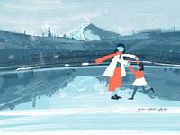 #又一和十五#想带你去溜冰,感受北方的冬天