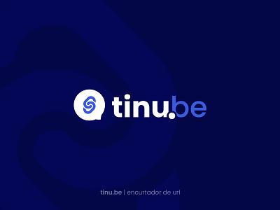 tinu.be logo app vector web clean dark ui brand identity flat icon branding design logo