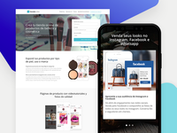 Landing pages - Channels & Verticals