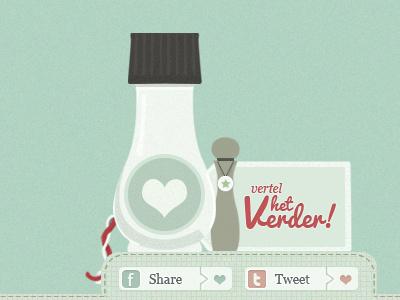 Pikante Pimpernel illustration design blog retro tag kitchen twitter facebook