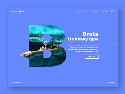 Ndiscover Landing page