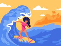 Surf girl 🏄🏻♀️