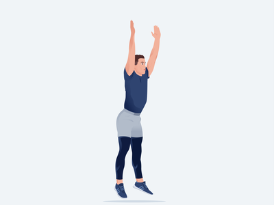 Sports Character vector flat sport training workout fitness gym health 2d design characterdesign character illustration