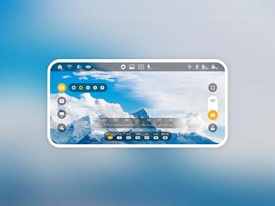 Camera Interface ux icon app ui design
