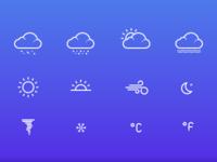 Weather Icons - Sketch Freebie