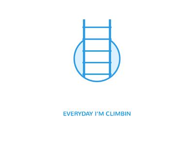 Ladder icon ladder climb icon