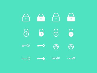 Password icons password icon iconset lock unlock key