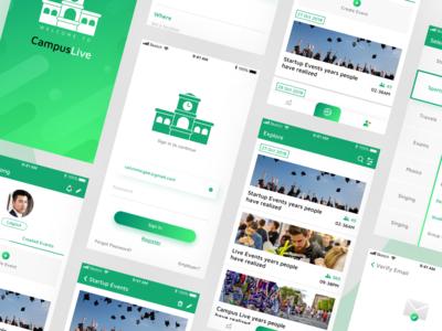 CampusLive Event App