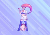 Prepare for trouble - Jessie 'Team rocket'