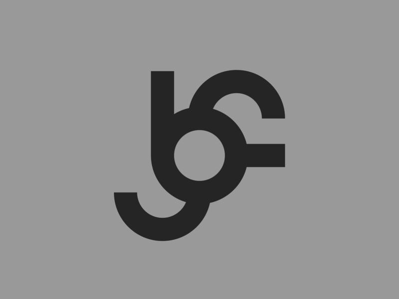 BF — monogram flat lettering illustrator identity vector typography type monogram logo monogram minimal logo a day logo design branding