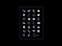 C — Monogram Poster