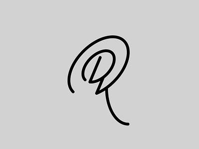 DK — Monogram lettering monogram logo monogram vector illustrator identity typography minimal logo a day type logo branding design