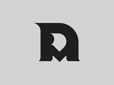 DM — Monogram mockup flat lettering monogram logo monogram vector illustrator identity typography minimal logo a day type logo branding design