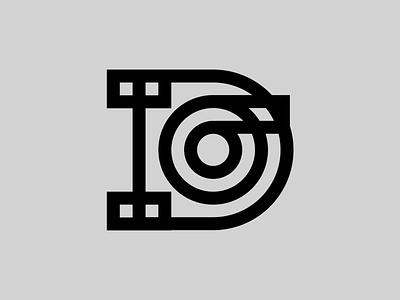 DO — Monogram monogram logo monogram vector illustrator identity typography minimal logo a day type logo branding design