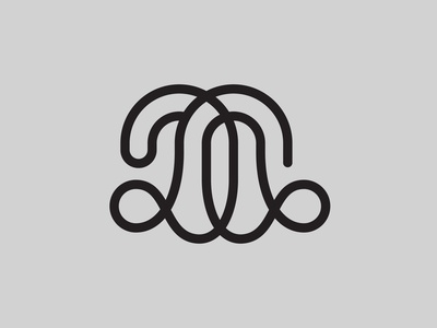 DQ — Monogram flat lettering monogram logo monogram vector illustrator identity typography minimal logo a day type logo branding design