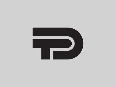 DT — Monogram monogram logo monogram vector illustrator identity typography minimal logo a day type logo branding design