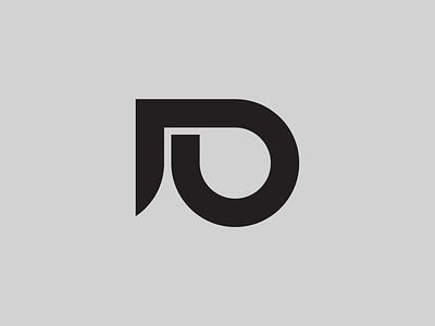 DU — Monogram monoline monogram design monogram logo monogram vector illustrator identity typography minimal logo a day type logo branding design