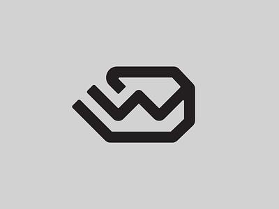 DW — Monogram monogram logo monogram vector illustrator identity typography minimal logo a day type logo branding design