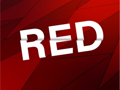 Red Typograohy