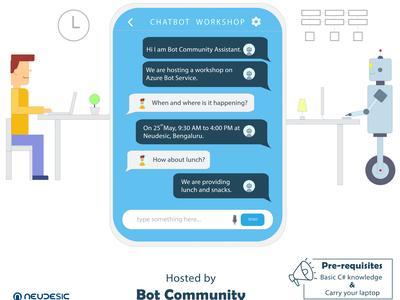 Chatbot Workshop at Neudesic.