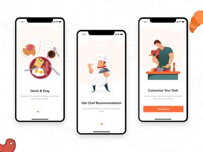 Walkthrough Screen Design for Cravings