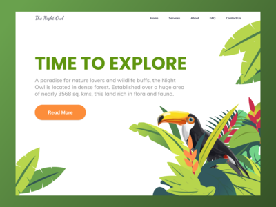 Landing page for Wildlife Sanctuary