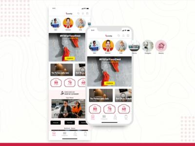 Swanky Home Screen for iOS Platform