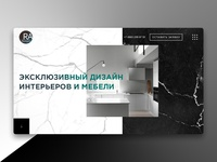 RA Designe website concept