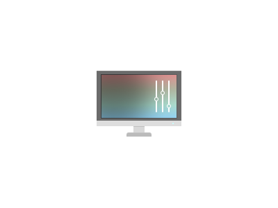 Color Calibration color computer screen adjustment settings display icon