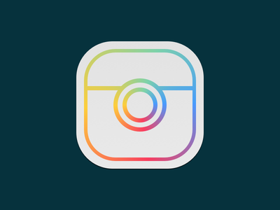 Instagram Concept concept brand redesign icon
