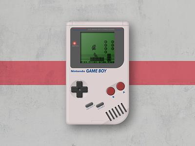 GameBoy classics vector depth nintendo illustration gaming icon