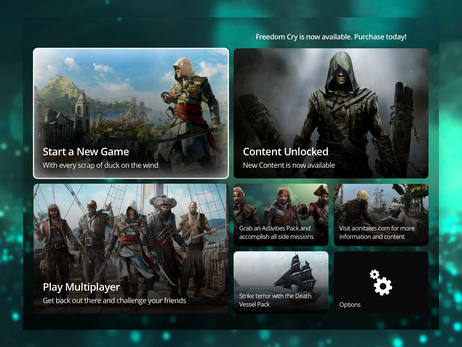 Assassin's Creed IV: Black Flag UI