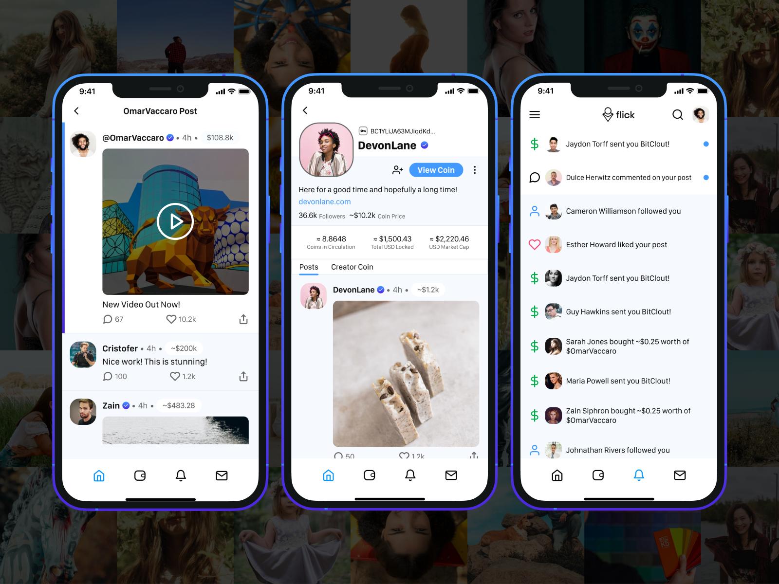Flick - The BitClout App Launch