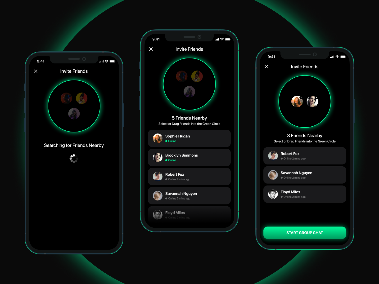 Circle of Friends Feature