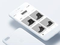 WMW - Shop Concept